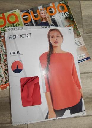 Яркая блуза рубашка esmara 40 euro