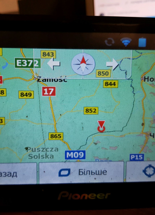 """GPS Навигатор Pioneer 7"""" на Android"""