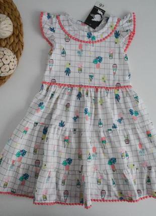 Новое платье на 1,5-2г.
