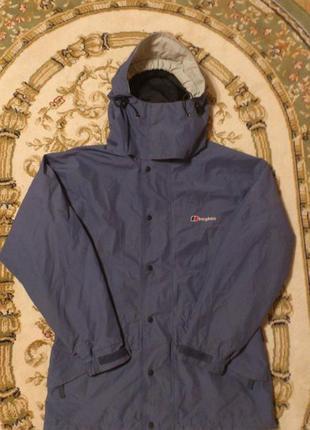 Куртка штормовка ветровка ветряк berghaus бергхаус gore-tex