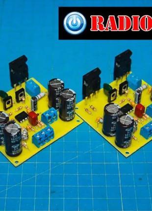 Hi-Fi Транзисторный усилитель 120Вт Дорофеева