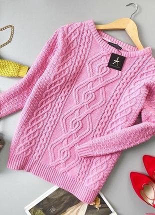 Красивый свитер в косы atmosphere