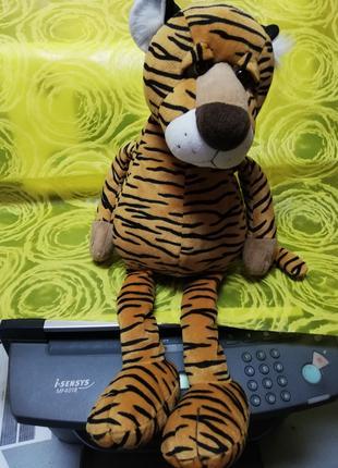Тигр папа и тигр сын мягкие игрушки