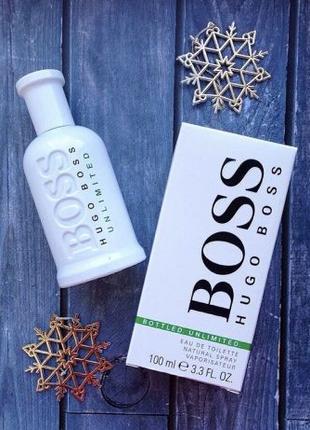 Мужская туалетная вода парфюмерия Hugo Boss Unlimited 100ml