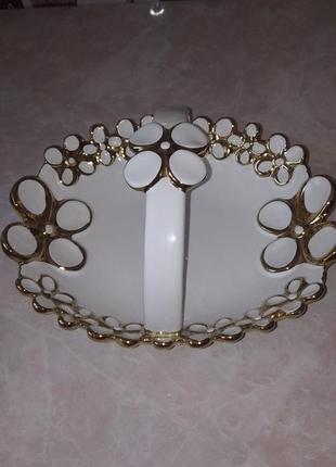Конфетница тарелка подставка