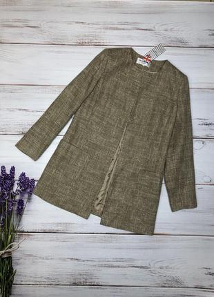 Пиджак, жакет из твида английского бренда helene berman (1148)