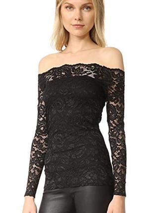 Красивая гипюровая блуза с открытыми плечами!!!