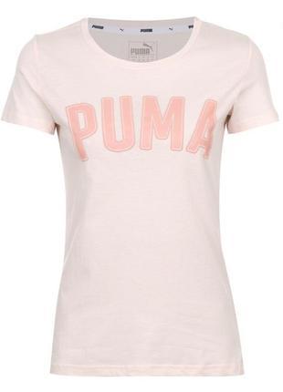 В наличии! футболка, светло розовая футболка, футболка пума.