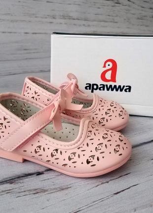 """""""туфли для девочек apawwa (румыния)"""