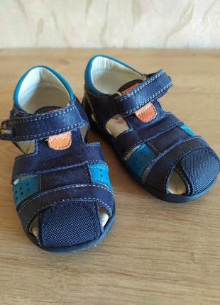 Кожаные сандали pablosky испания в идеальном состоянии 13.5см