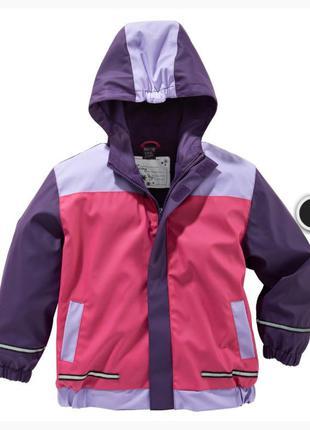 Непромокаемая куртка-дождевик унисекс kik 104/110