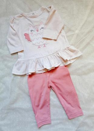 Комплект кофтинка штани 0-3 м