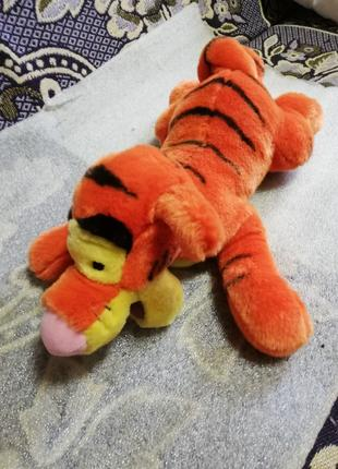 Мягкая игрушка-мультяшка Тигра.
