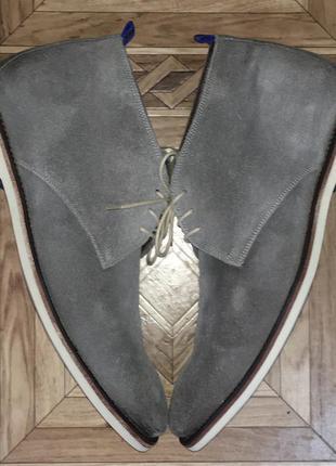 Демисезонные замшевые ботинки floris van bommel(оригинал)р.42-43