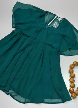 Дуже  гарне шифонове  плаття бренду asos розмір 46 / платье же...