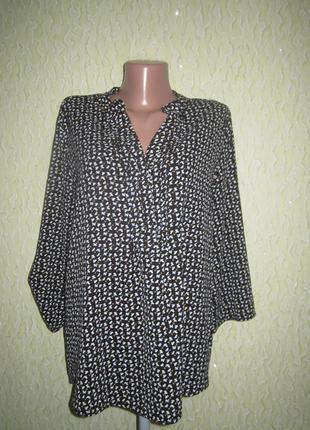 Красивая удлинённая кофточка,блузка,рукав 2 вида,отличное сост...