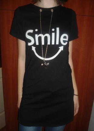 Туника футболка для девочек с подвеской, 10,14, италия