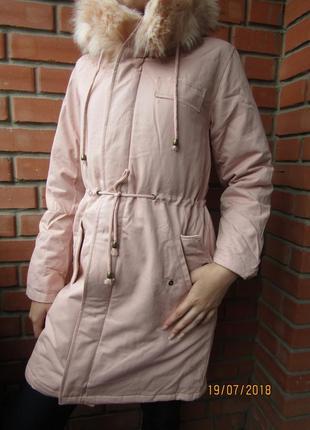 Парка куртка для девочек, деми/еврозима,158-164-170, венгрия