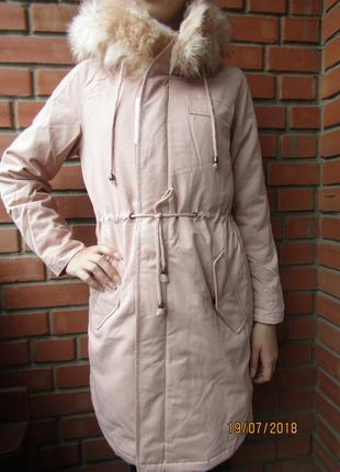 Акция!парка куртка для девочек деми/еврозима, 158-164-170, вен...