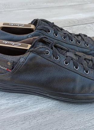 Diesel мужские кожаные кроссовки оригинал