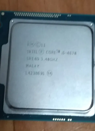 Процессор Intel Core i5 4670 3.4GHz LGA1150
