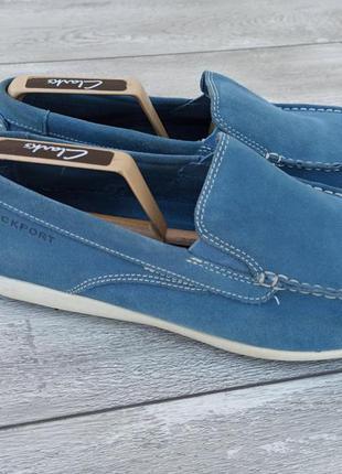 Rockport мужские замшевые туфли мокасины оригинал