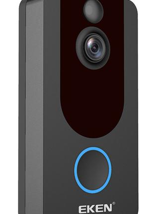 Видеодомофон Full HD 1080p Wi-Fi видео звонок дверной Doorbell V7