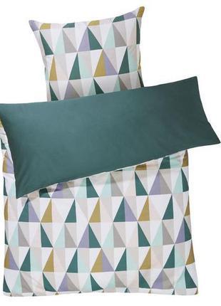 Комплект двухстороннего постельного белья 150х220 meradiso абс...