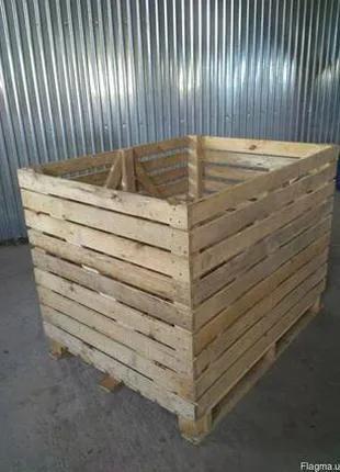 Контейнери дерев`яні