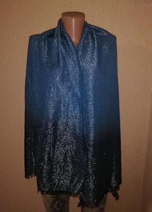 Красивый женский шарф, шаль