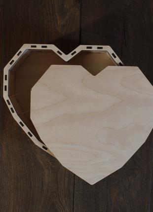 """Подарочная """"коробка-сердце"""""""