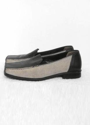 Закрытые кожаные  туфли