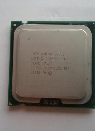 Процессор QuadCore Intel Core 2 Quad Q9550, 2833 MHz , s775