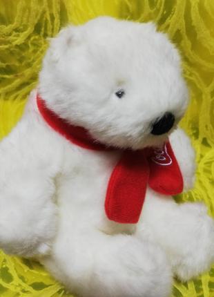 Белые медведи мягкие игрушки