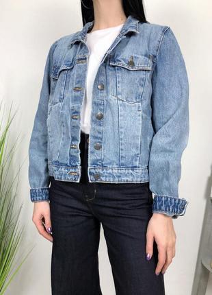 Джинсовка в винтажном стиле винтаж джинсовый пиджак selected f...