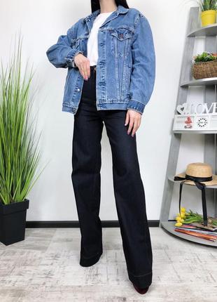 Джинсовка винтаж оверсайз винтажная джинсовый пиджак levis 705...