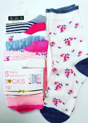 Носки для девочек примарк упаковка
