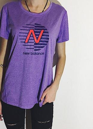 Женская спортивная футболка new balance ( нью беленс  мрр )