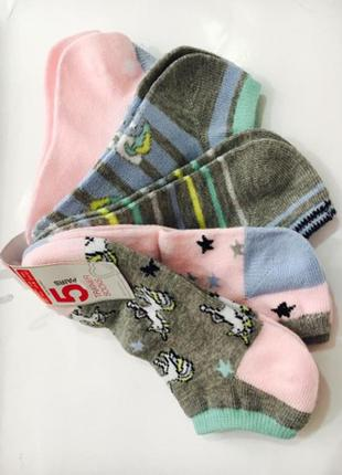 Носки примарк с единорогом для девочек на 5 лет