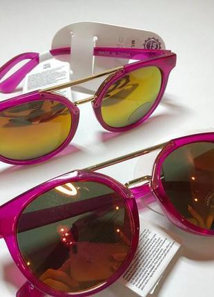 Стильные очки для девочек 2- 13 лет