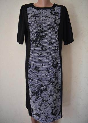 Элегантное платье с принтом большого размера f&f