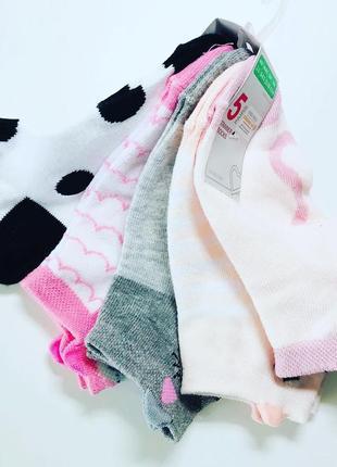 Носки примарк укороченные для девочек