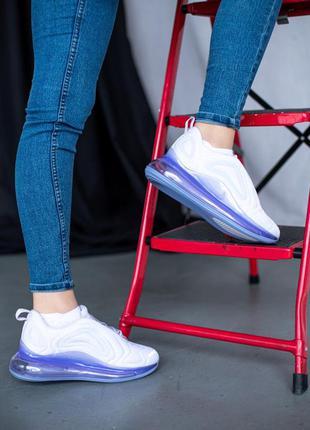 Nike air max 720 violet  🔺 женские кроссовки