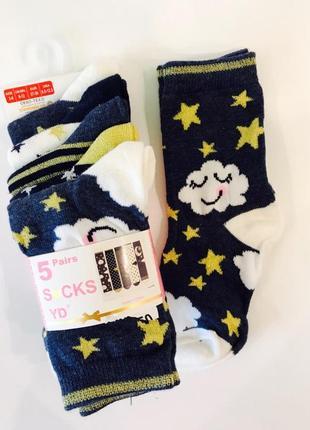 Детские носки примарк от 2 до 11 лет primark