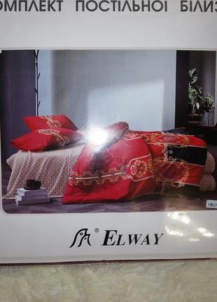 Комплект постельного белья евро 200*230. красная эвро постель ...
