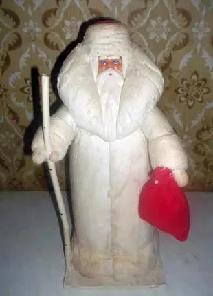 Ватный дед Мороз СССР