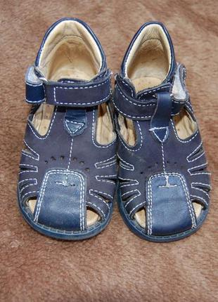 Летние кожаные босоножки, сандалии