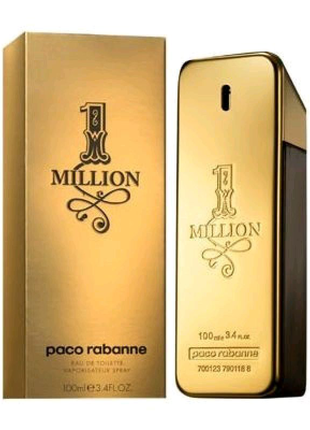 Чоловіча туалетна вода Paco Rabanne 1 Million 100ml Men's