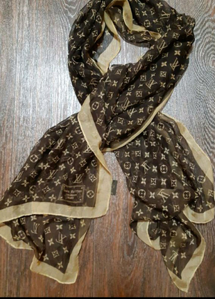 Платок шарф Louis Vuitton