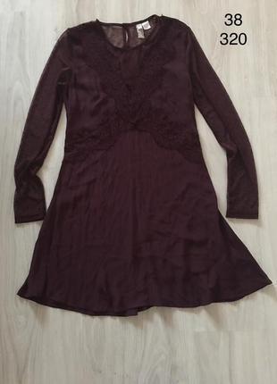 Красивый платье h&m